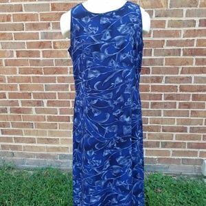 Aka Eddie Bauer100% silk dress size 10